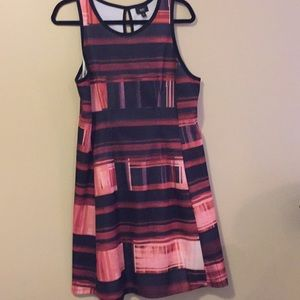 Mossimo Skater dress size XL Shades of pink&black